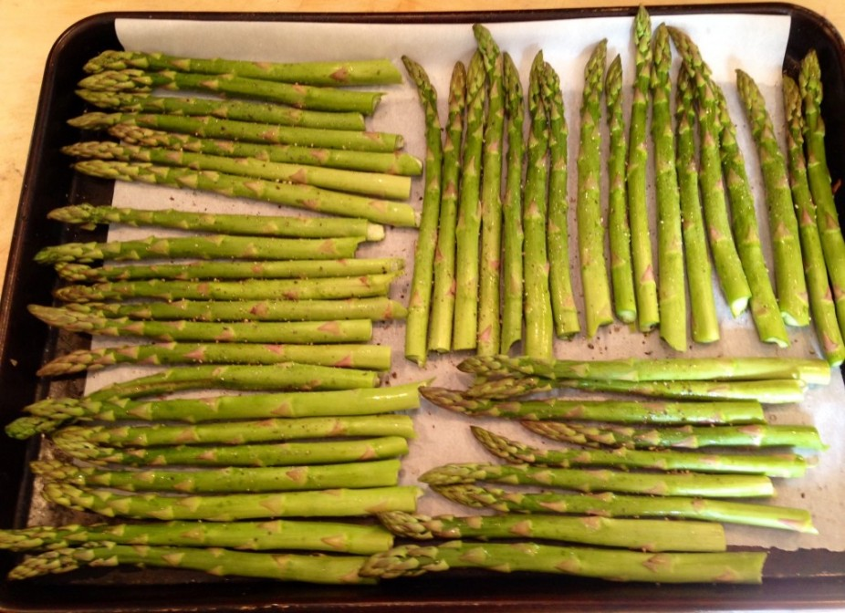 Simply Made Roasted Asparagus