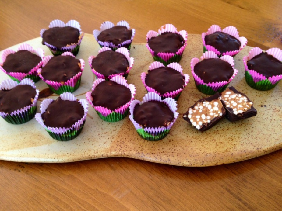Simply Made Mini Peanut Butter Cups