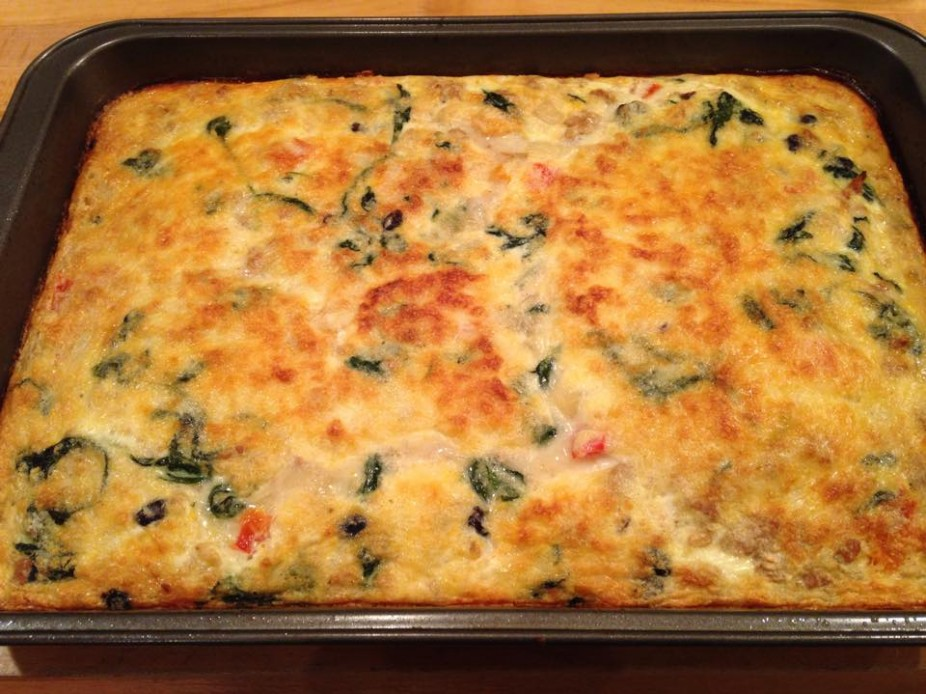 Tex-Mex Egg Bake