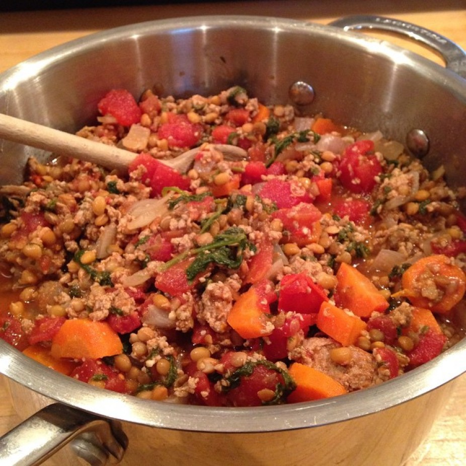Turkey & Lentil Chili