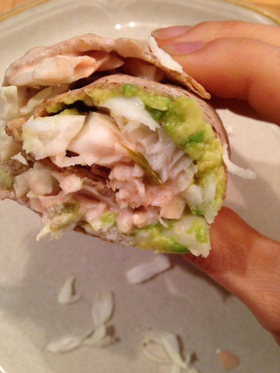 Simple Fish Taco Wraps