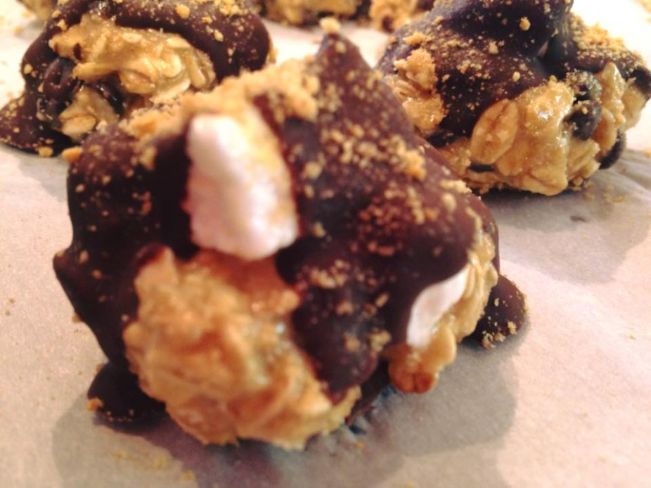 No Bake S'more Cookie Bites