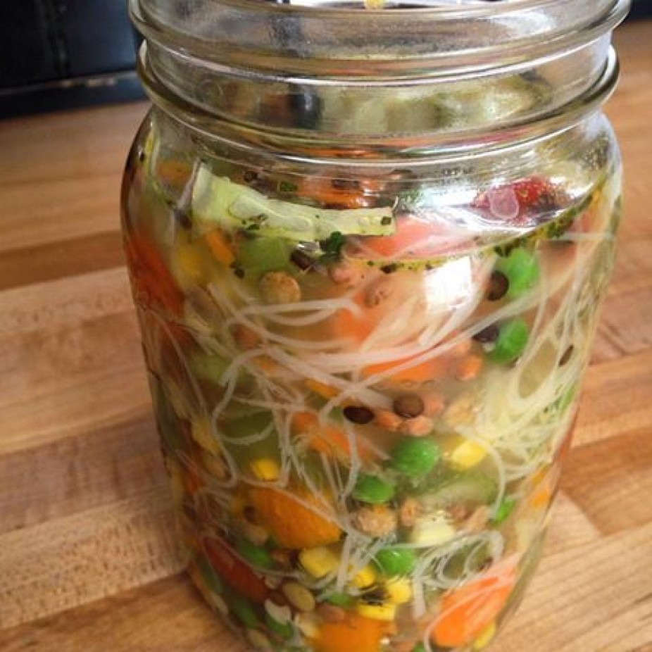 Simply Made Soup In A Jar