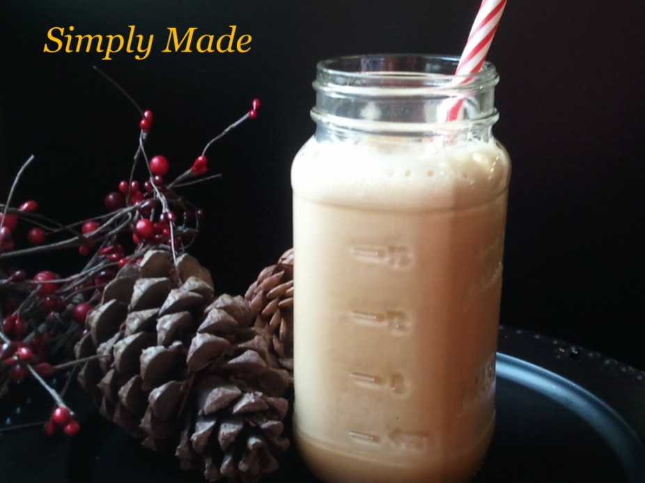 Gingerbread Cookie Protein Smoothie